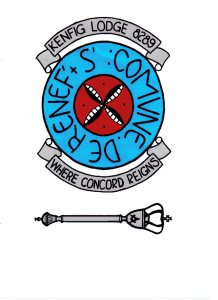 Kenfig Lodge Masonic Crest